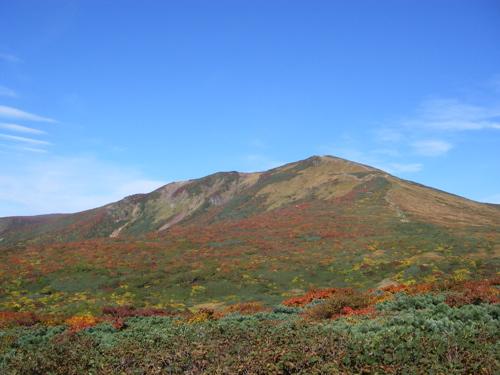 紅葉の栗駒山