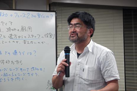広瀬敏通RQ総本部長